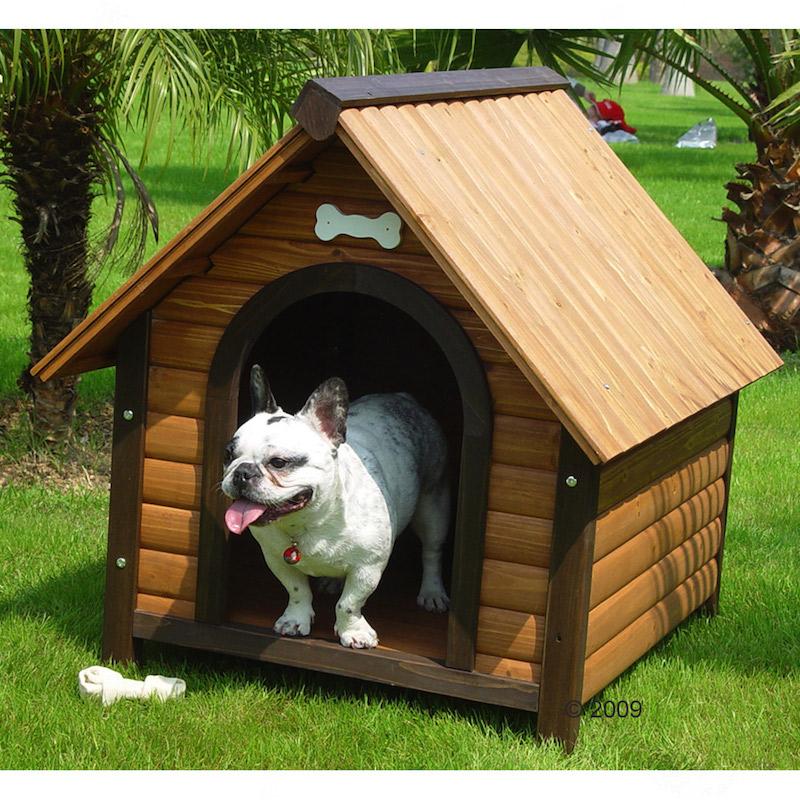 Ne n gligez pas la forme de la niche de votre chien - Comment fabriquer une niche en bois pour chien ...
