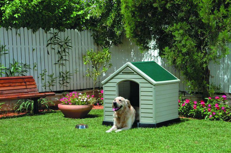 77 fabriquer une niche pour chien pictures to pin on pinterest - Niche pour chien avec palette ...